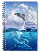 Dolphonic Symphony Spiral Notebook