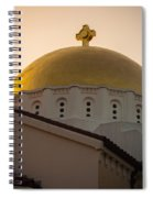 Dome And Cross At St Sophia Spiral Notebook