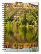 Dome Lake Sunset Spiral Notebook