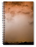 Dome Of Lightning Spiral Notebook