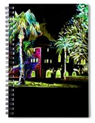 Dome Of The Rock At Night Spiral Notebook