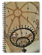 Dome Structure And Decoration Spiral Notebook