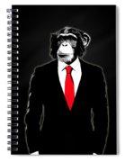 Domesticated Monkey Spiral Notebook