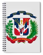 Dominican Republic Coat Of Arms Spiral Notebook