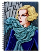 Dominique Spiral Notebook