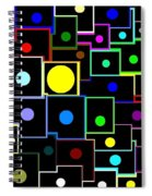 Domino Effect  Spiral Notebook