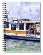 Don And Kathys Boat Spiral Notebook