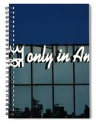 Don King Only In America Spiral Notebook