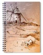 Don Quijote Windmills 06 Spiral Notebook