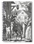 Don Quixote And Sancho Panza By William Spiral Notebook