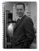 Donald Glaser, American Physicist Spiral Notebook