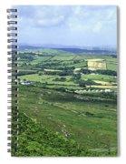 Donegal Patchwork Farmland Spiral Notebook