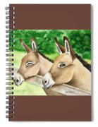 Donkey Duo Spiral Notebook