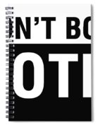 Don't Boo Vote- Art By Linda Woods Spiral Notebook
