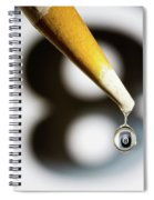 Don't Fall Behind The Eight Ball Spiral Notebook