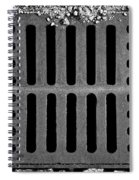 Don't Forget The Drains Bw Spiral Notebook