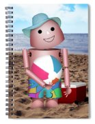 Don't Forget The Sunscreen Spiral Notebook