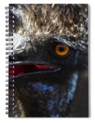 Dont Mess With The Emu Spiral Notebook