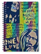 Don't You Worry Spiral Notebook