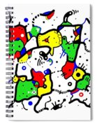 Doodle Abstract Spiral Notebook