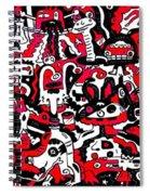 Doodle Spiral Notebook