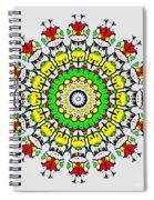 Doodle Mandala Spiral Notebook