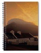 Doogort And Slievemore, Achill Island Spiral Notebook