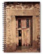Door #3 Spiral Notebook
