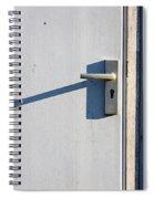 Door Entrance Spiral Notebook