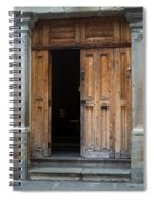 Door Entrance To Church In Guatemala Spiral Notebook