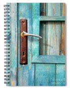 Door Handle Spiral Notebook