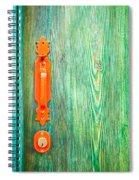 Door Handle Spiral Notebook