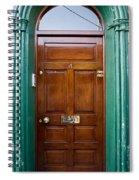 Door In Ireland Spiral Notebook