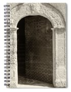 Door Invitation Spiral Notebook