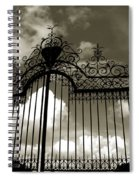 Door To Heaven Spiral Notebook