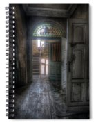 Door To Stairs Spiral Notebook