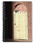Door To Your Heart  Spiral Notebook