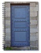 Door With No Handle Spiral Notebook