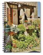 Little Paradise In Tuscany/italy/europe Spiral Notebook