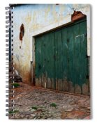 Doors And Windows Lencois Brazil 10 Spiral Notebook