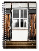 Doors Of Dachau Spiral Notebook