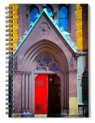 Doorway To Heaven Spiral Notebook