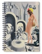 Dope Dupe Museum Spiral Notebook