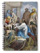 Dor�: Jesus Healing Sick Spiral Notebook
