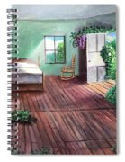 Dorothy's House After The Passage Of Time Spiral Notebook