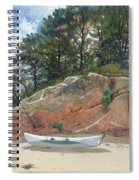 Dory On Dana's Beach Spiral Notebook