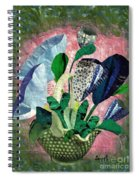 Dot Bouquet Spiral Notebook