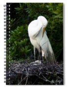Doting Mother Spiral Notebook