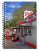 Dot's Diner In Bisbee Spiral Notebook