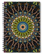 Dotted Wishes No. 4 Kaleidoscope Spiral Notebook